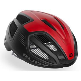 Rudy Project Spectrum Kask rowerowy, czarny/czerwony
